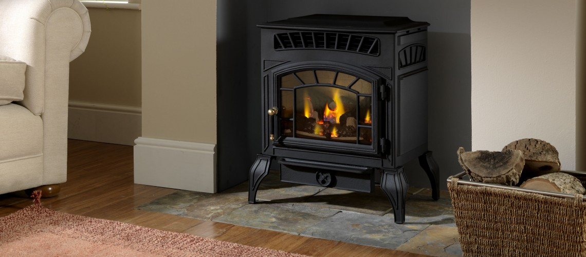 Flueless Gas Stove